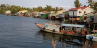 Kampot floating village