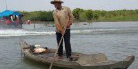 Villager on Tonle Sap Lake