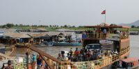 Ferry boat on Tonle Sap Lake