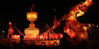 Light Festival in Luang Prabang October 2015